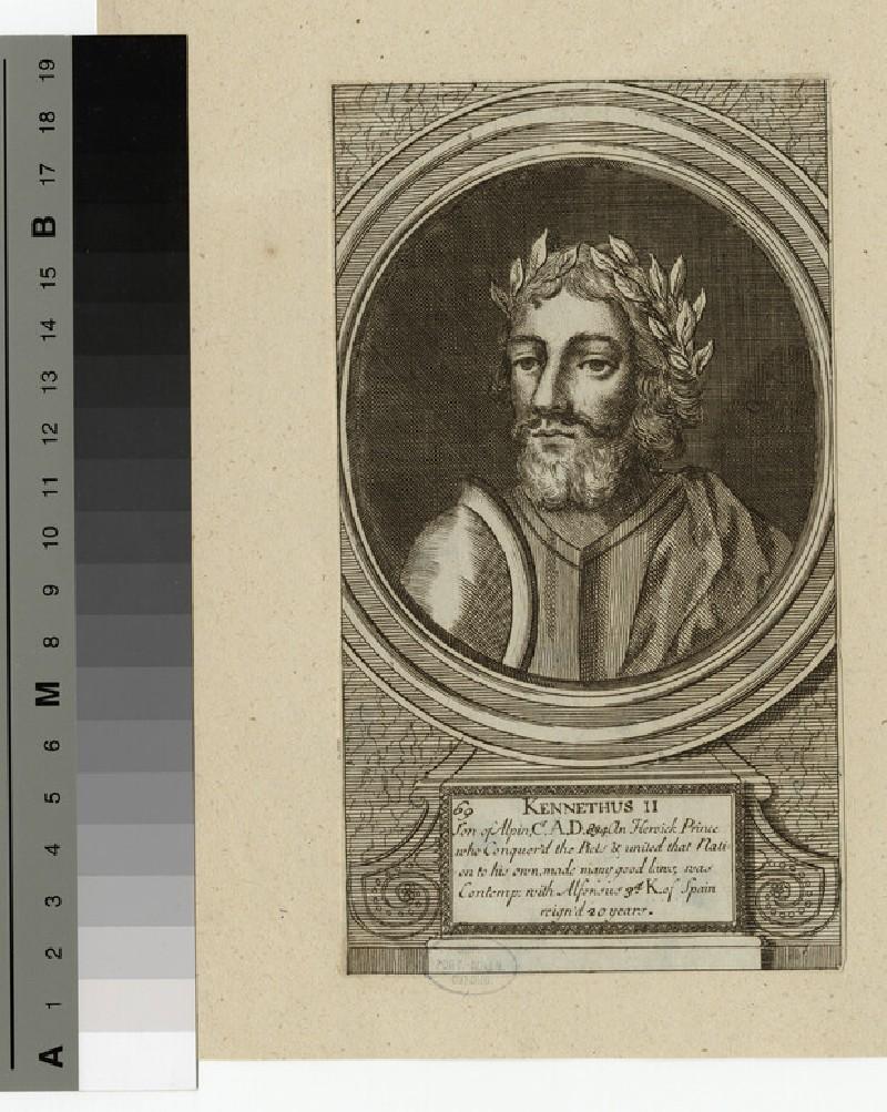 Portrait of Kenneth II (WAHP14328)