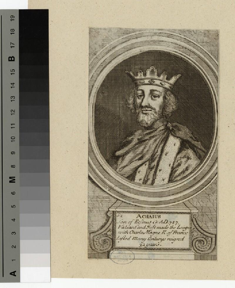 Portrait of Achaius