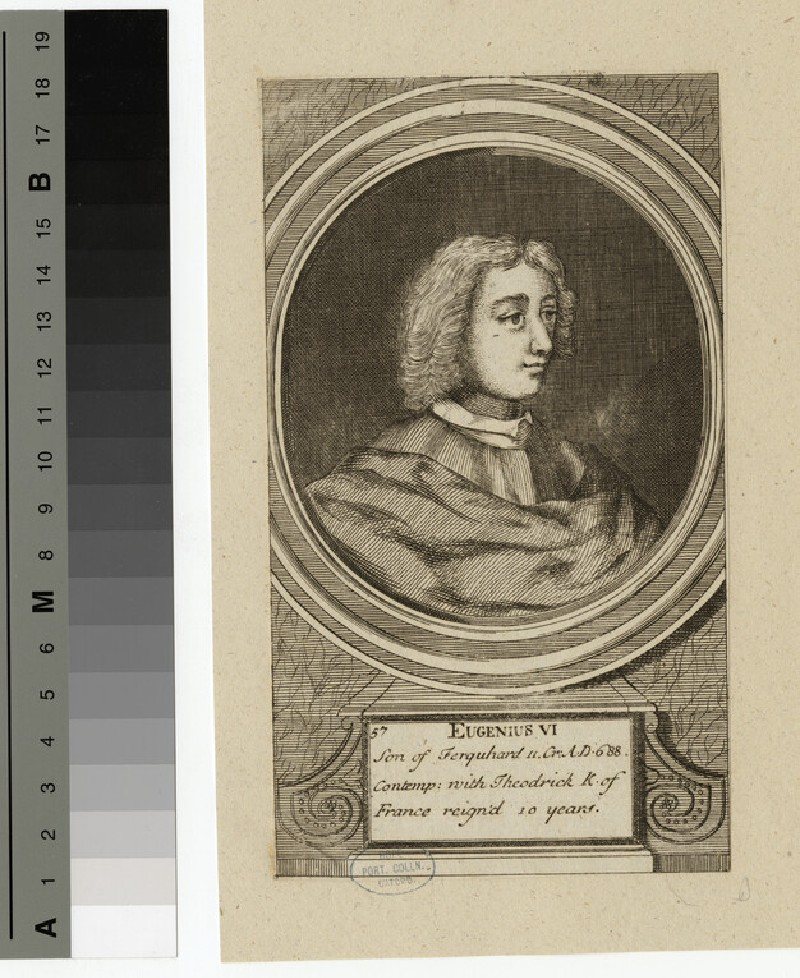 Portrait of Eugenius VI