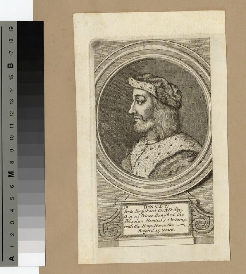 Portrait of Donald IV