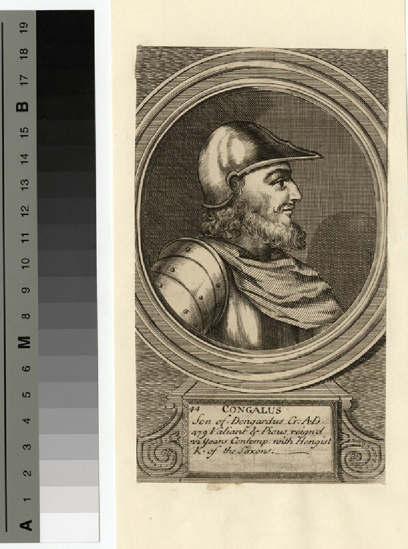 Portrait of Congalus (WAHP14354)