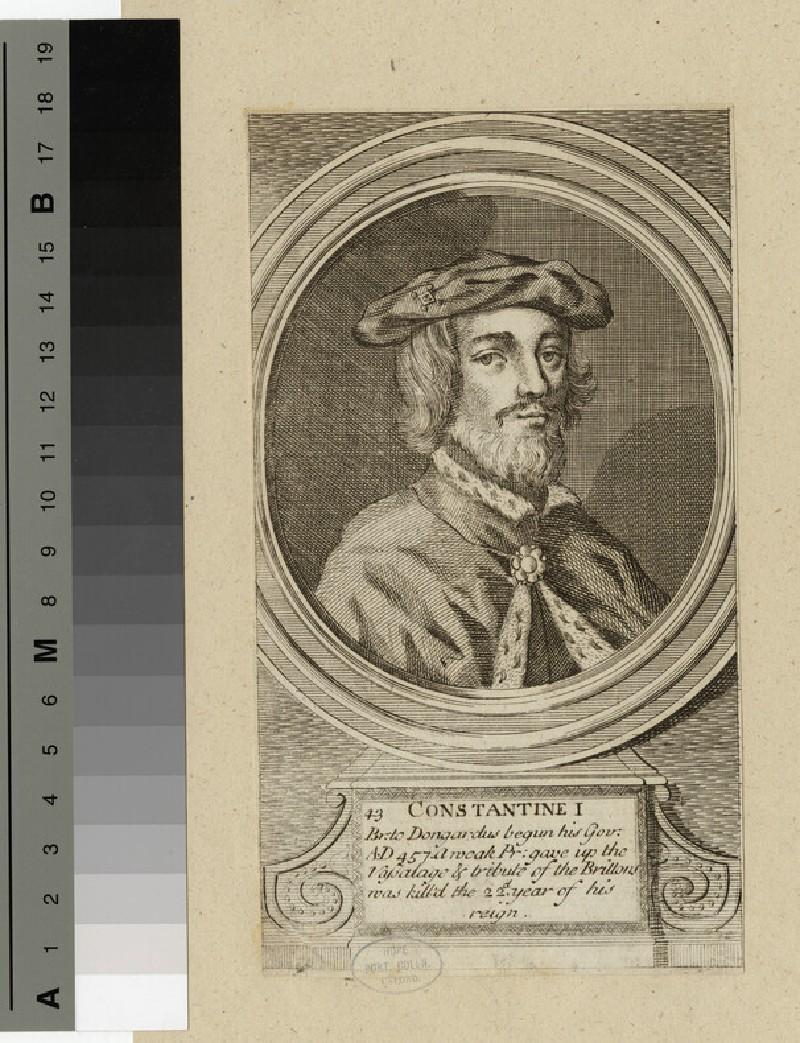 Portrait of Constantine I