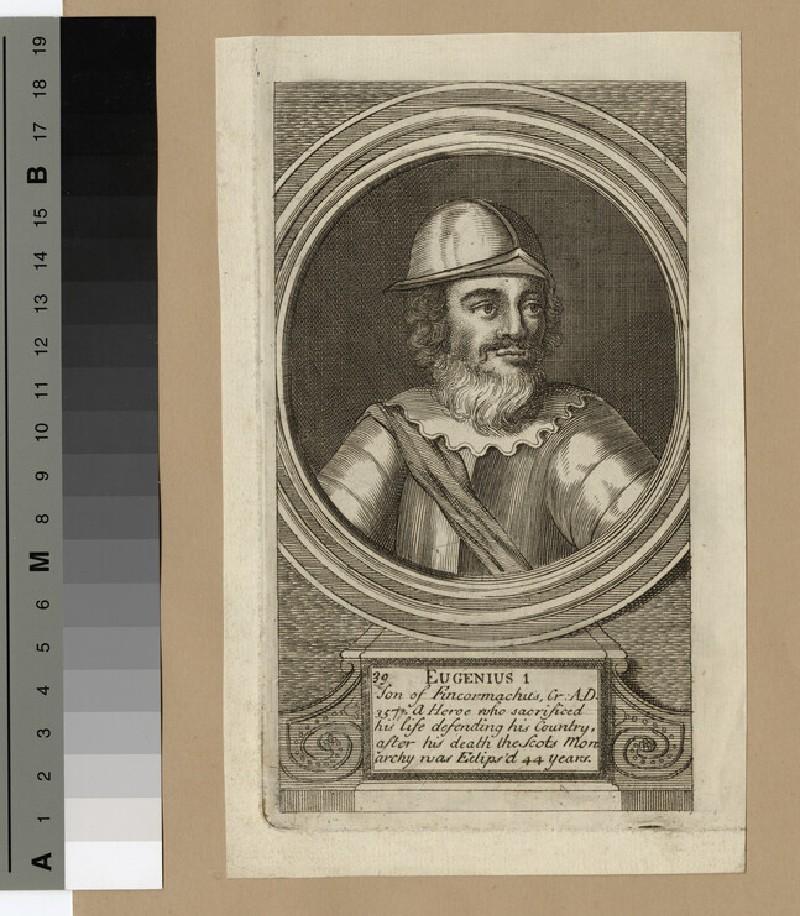 Portrait of Eugenius I (WAHP14361)
