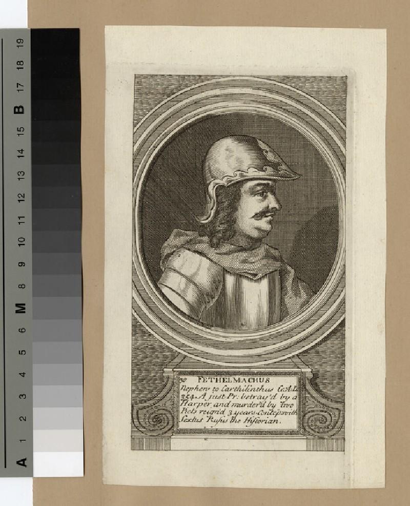 Portrait of Fethelmachus