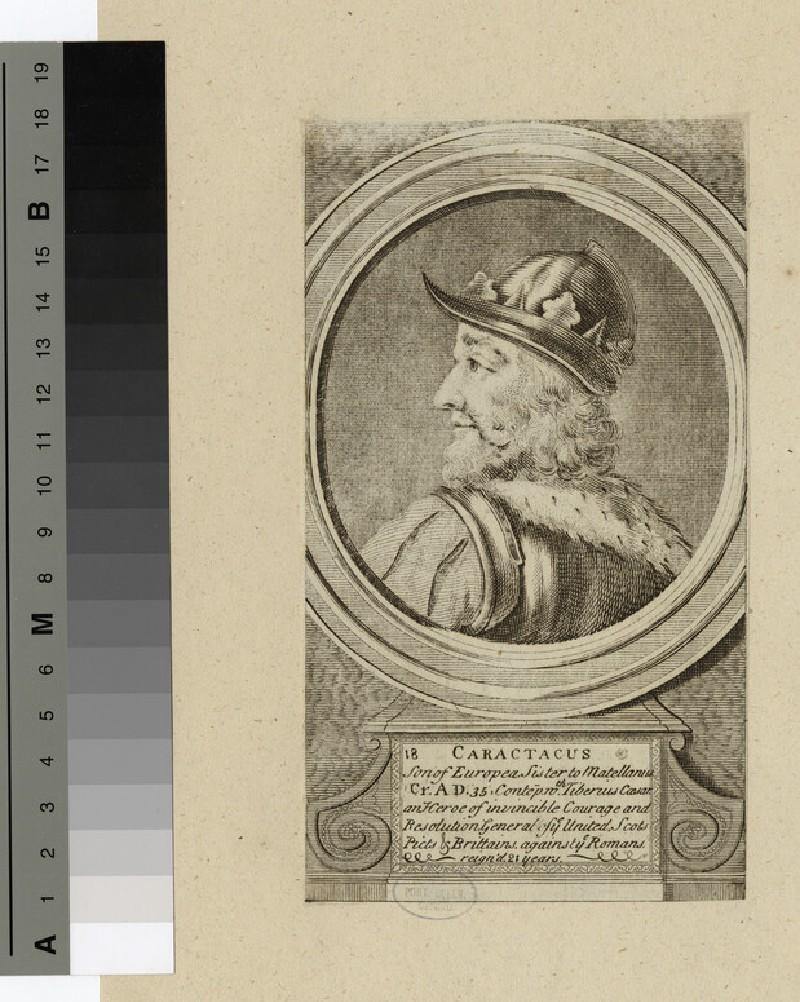 Portrait of Caractacus