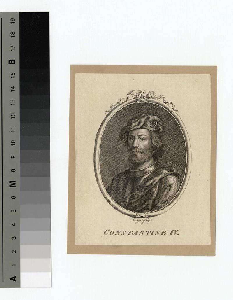 Portrait of Constantine IV