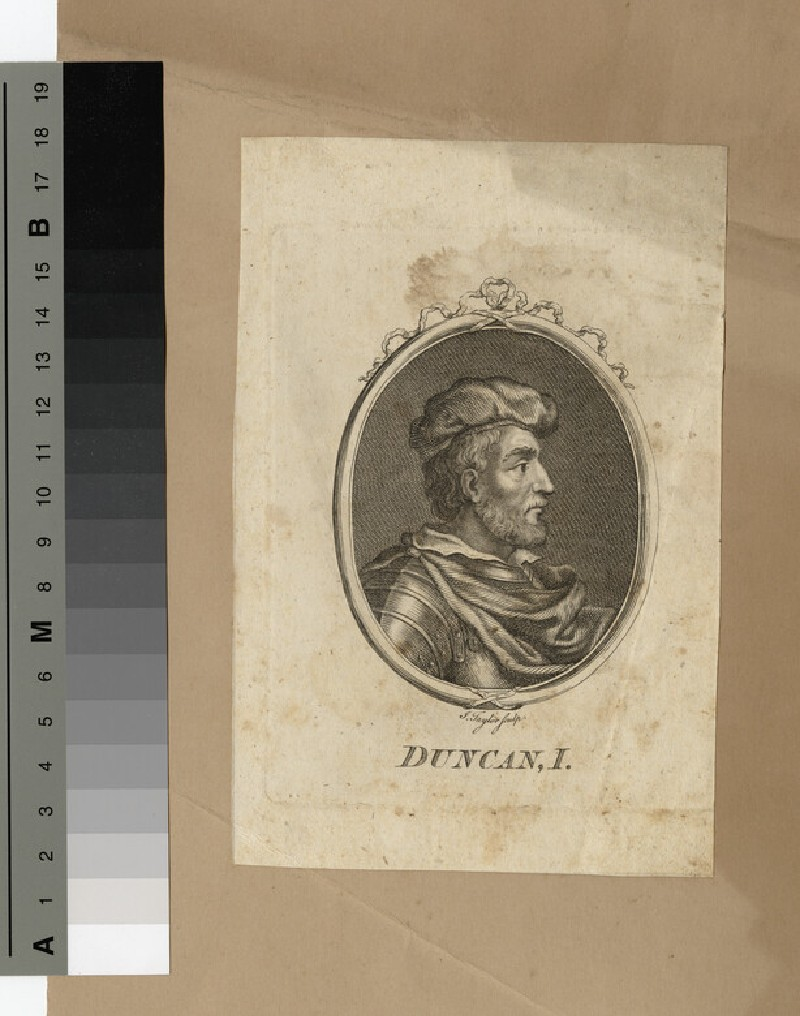 Portrait of Duncan I (WAHP14437)