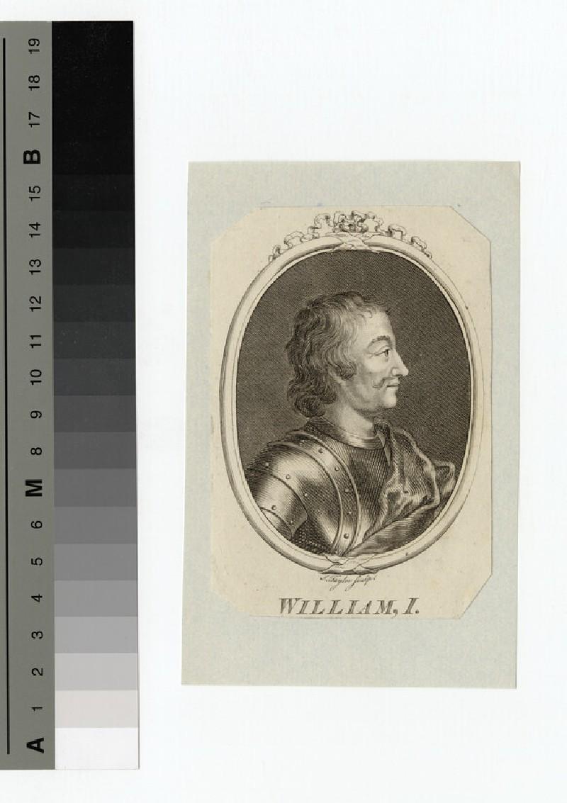 Portrait of William I (WAHP14450)
