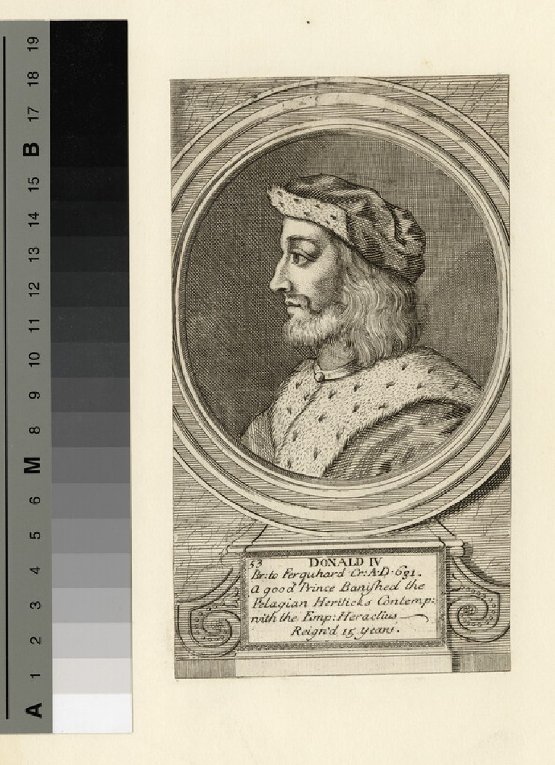 Portrait of Donald IV (WAHP14454)