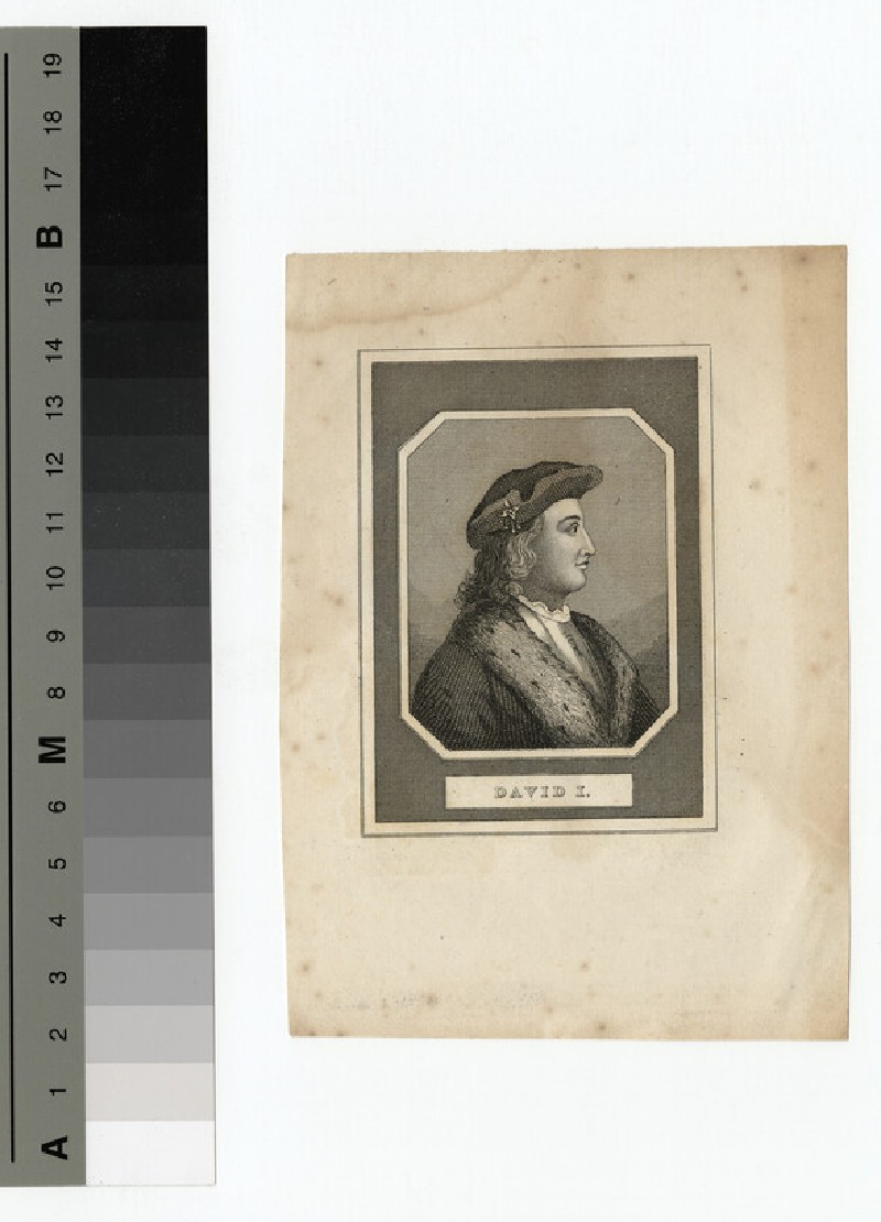 Portrait of David I