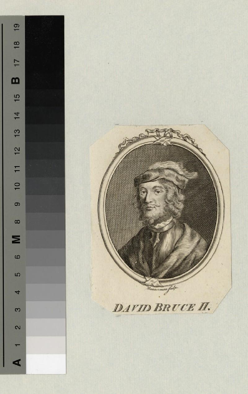 Portrait of David Bruce II