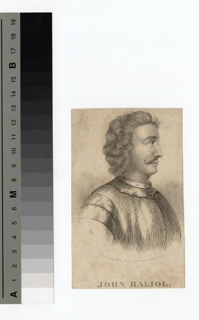 Portrait of John Balliol