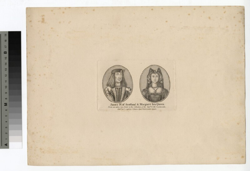 Portrait of James IV and Queen Margaret