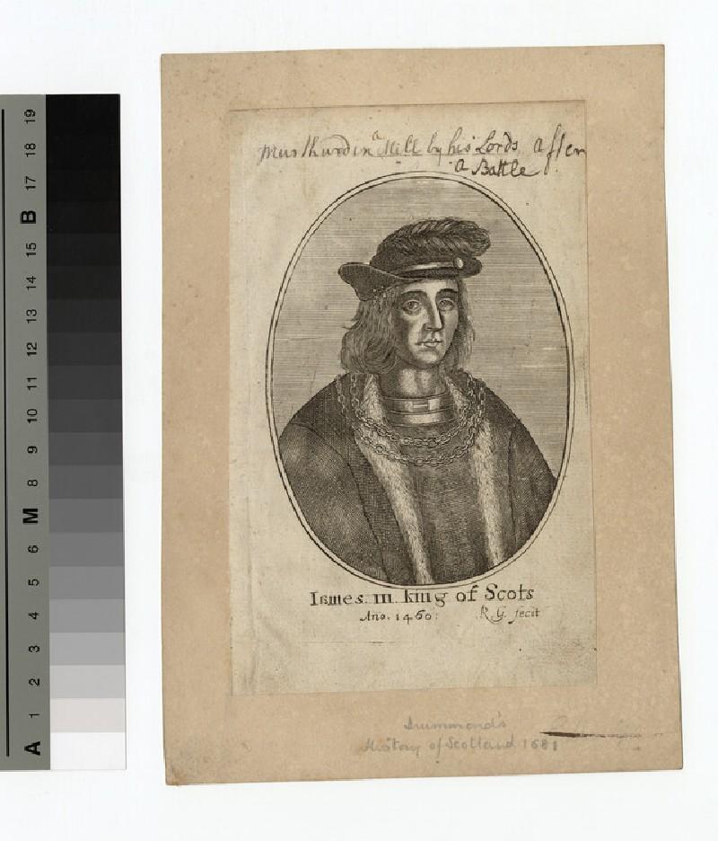 Portrait of James III of Scotland