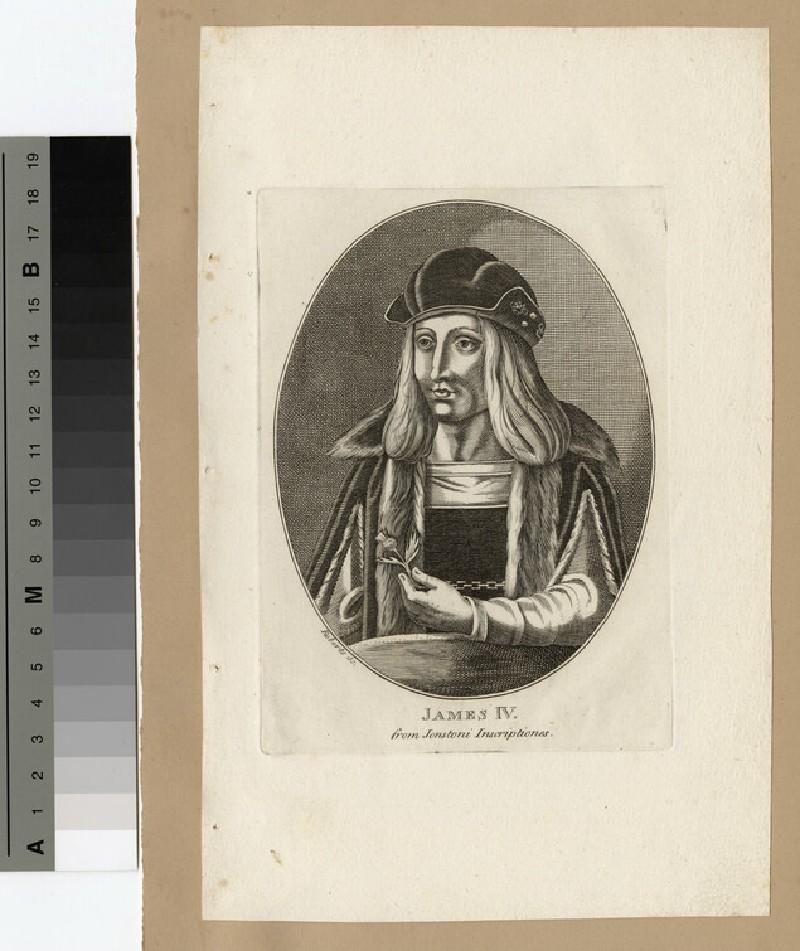 Portrait of James IV (WAHP14513)
