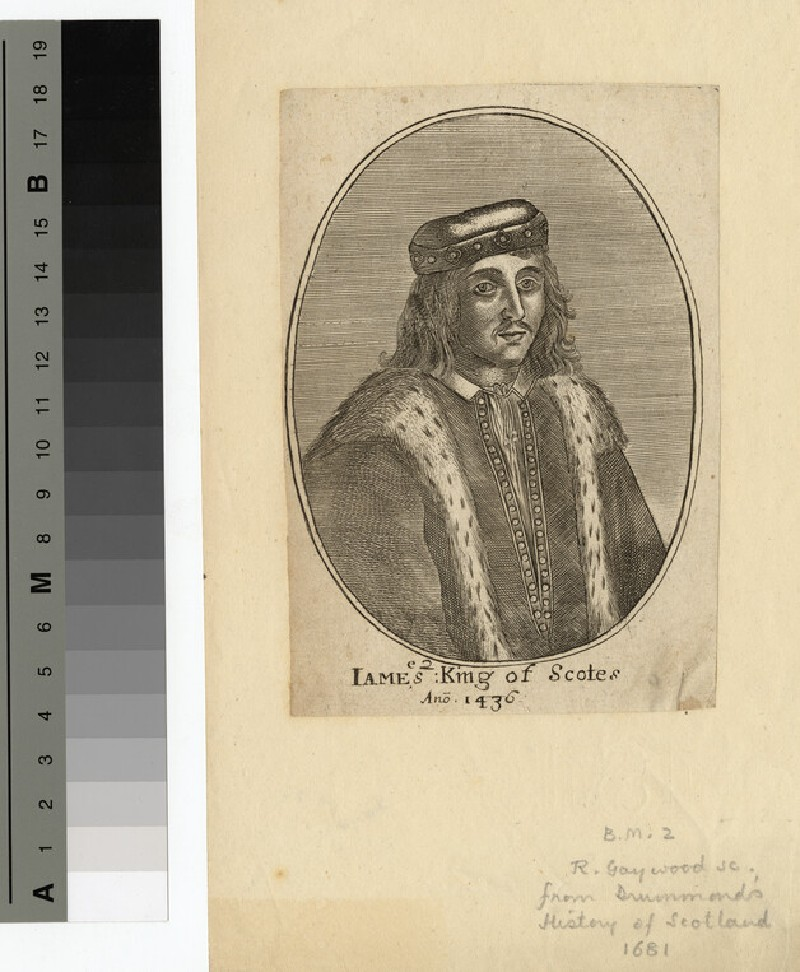 Portrait of James II of Scotland