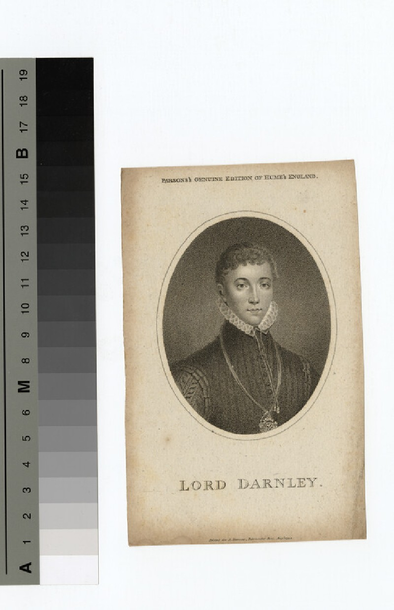 Portrait of Darnley