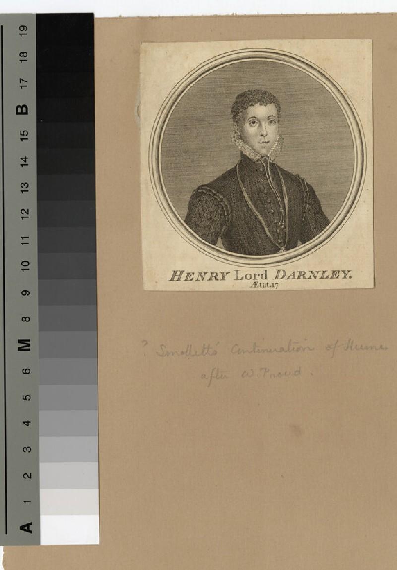 Portrait of Darnley