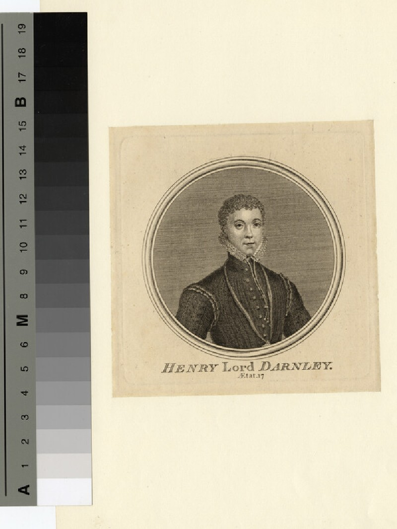 Portrait of Darnley (WAHP14542)