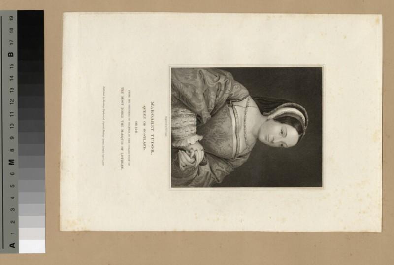 Portrait of Margaret Tudor, Queen of Scotland