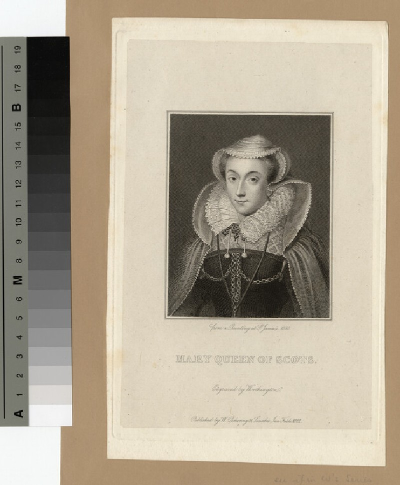 Portrait of Mary, Queen of Scots (WAHP14576)