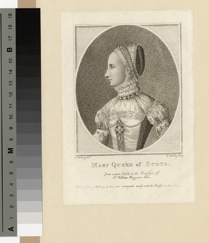 Portrait of Mary, Queen of Scots (WAHP14577)