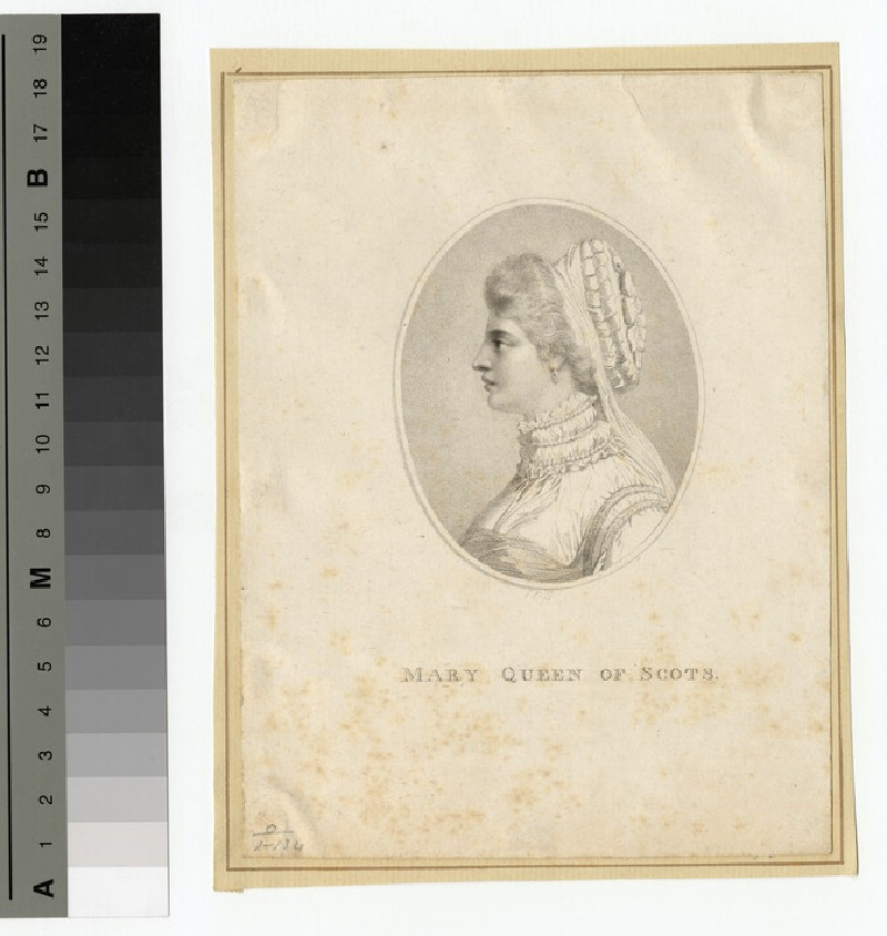 Portrait of Mary Queen of Scots (WAHP14611)