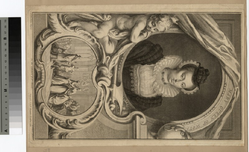 Portrait of Mary Queen of Scots (WAHP14633)