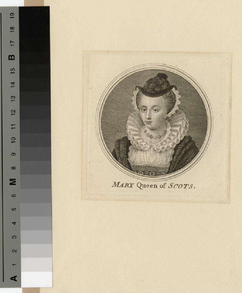 Portrait of Mary Queen of Scots (WAHP14638)