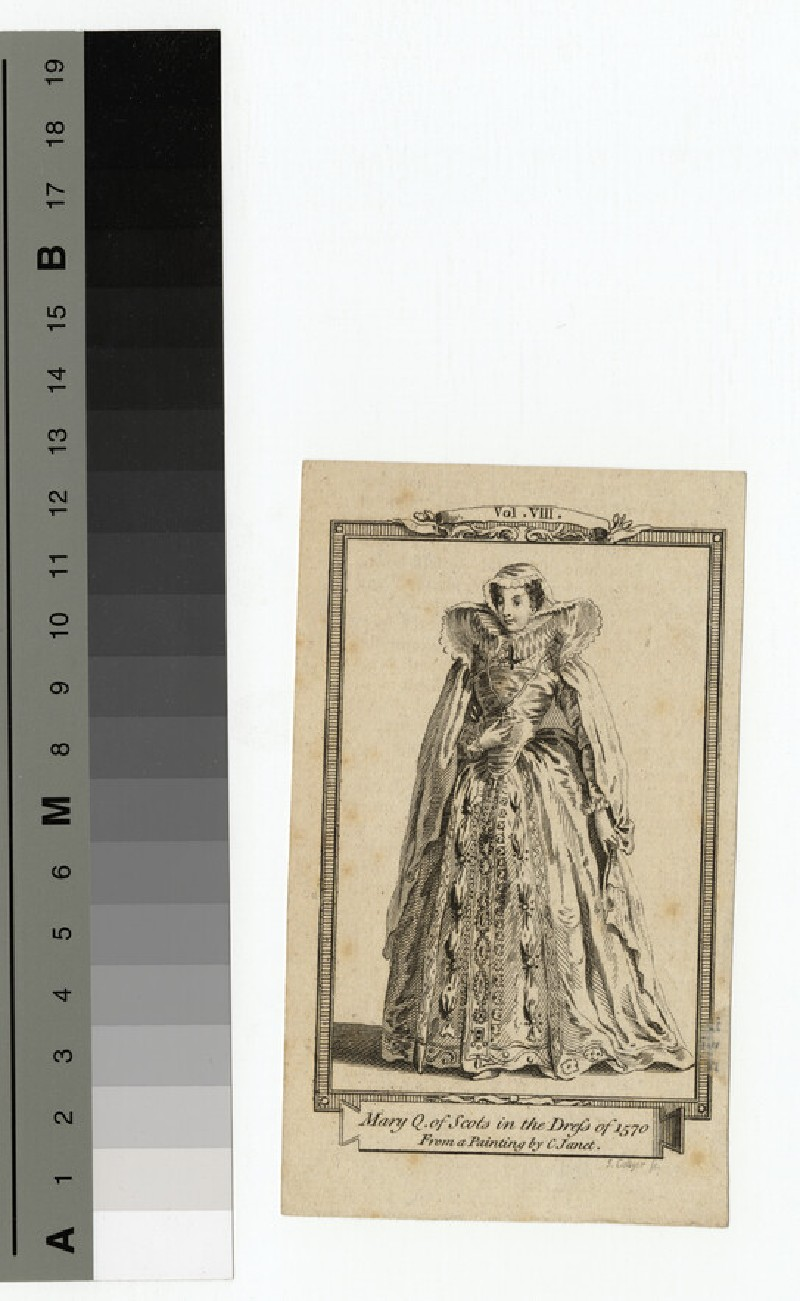 Portrait of Mary Queen of Scots (WAHP14641)