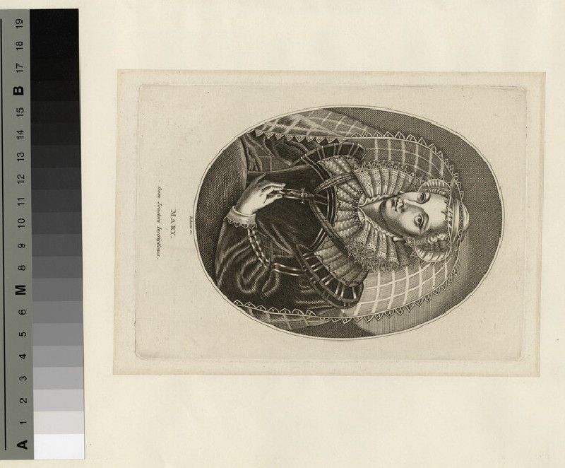 Portrait of Mary Queen of Scots (WAHP14666)