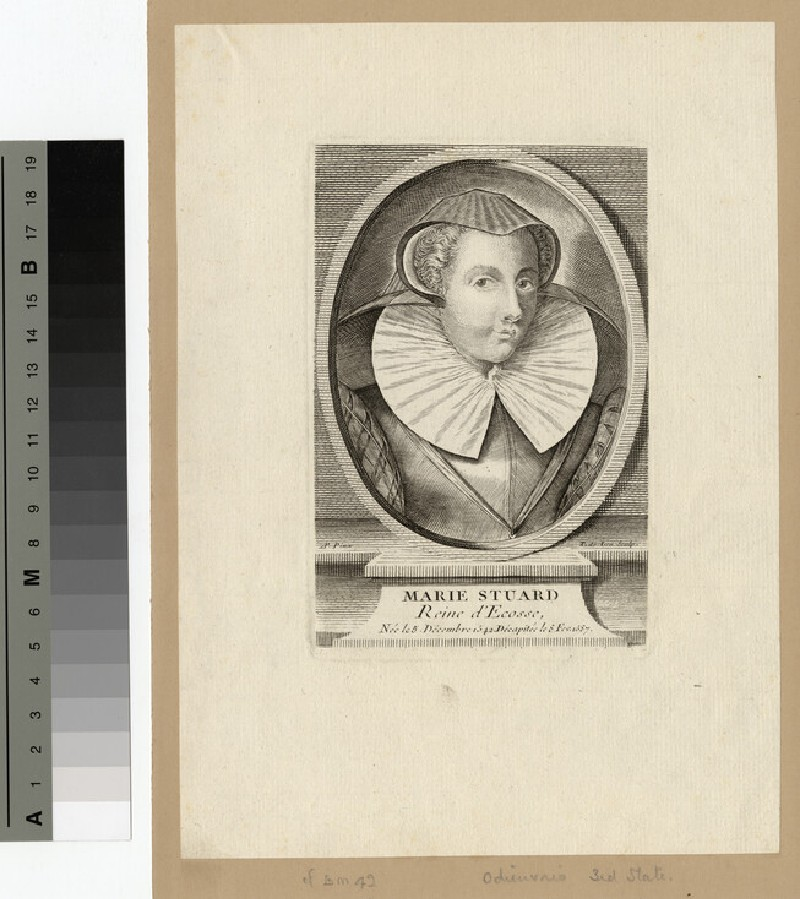 Portrait of Mary Queen of Scots (WAHP14674)