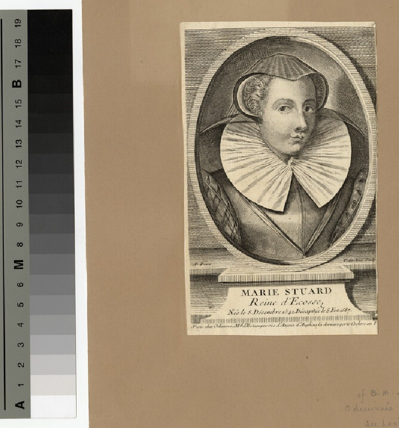 Portrait of Mary Queen of Scots (WAHP14678)