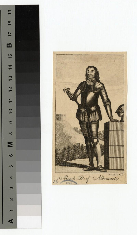 Portrait of George Monck, 1st Duke of Albemarle