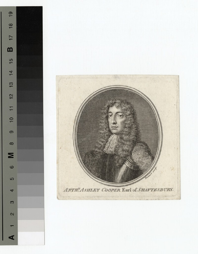 Portrait of Shaftesbury (WAHP14759)