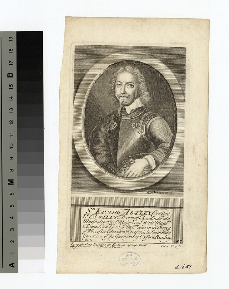 Portrait of J. Astley (WAHP14766)