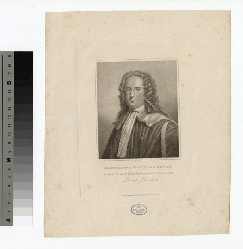 Portrait of VisCount Barrington (WAHP14781)