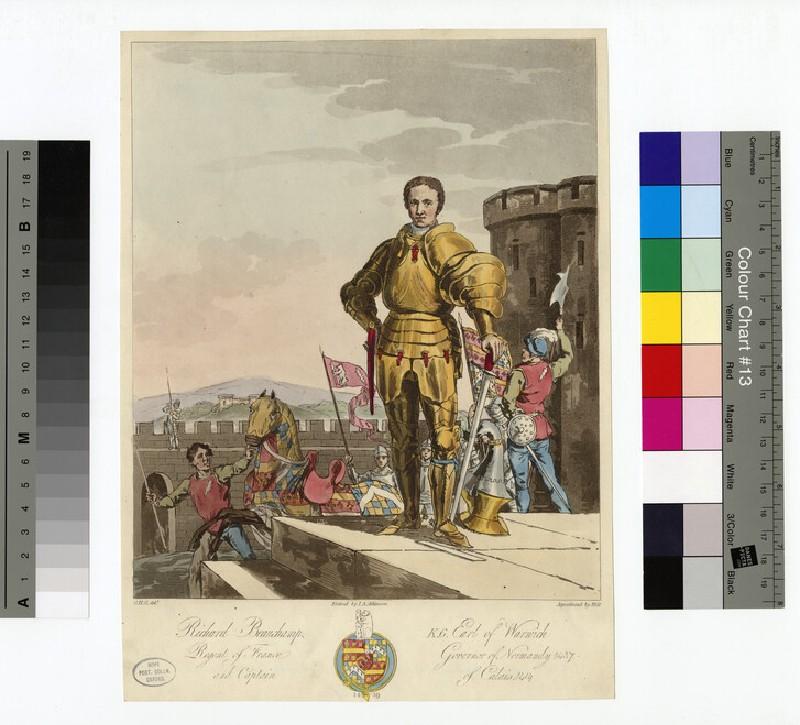 Portrait of Earl Warwick (WAHP14788)