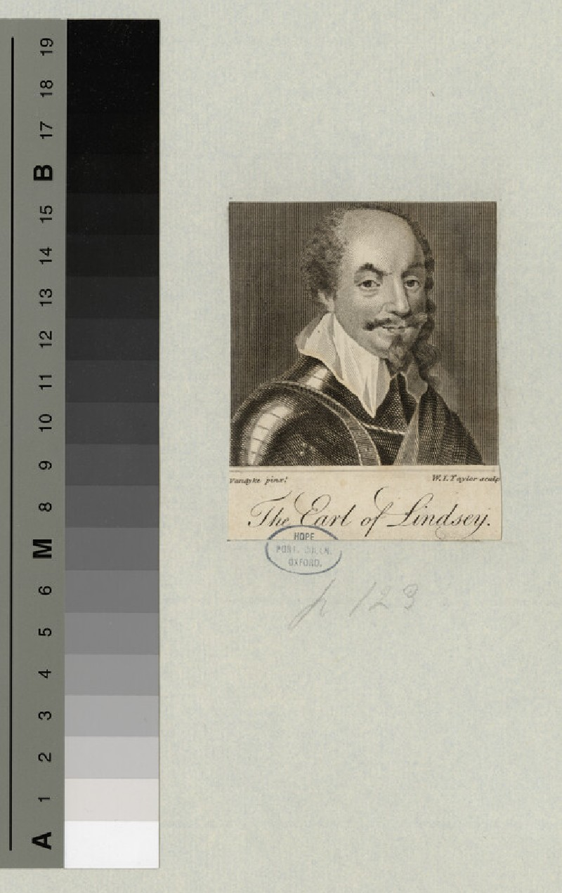 Portrait of Earl Lindsey (WAHP14836)