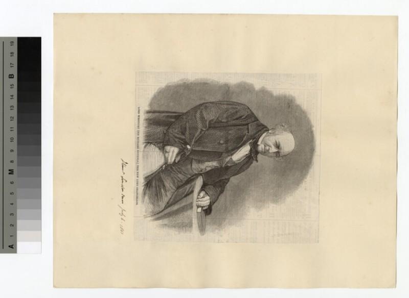 Portrait of Lord Westbury (WAHP14857)