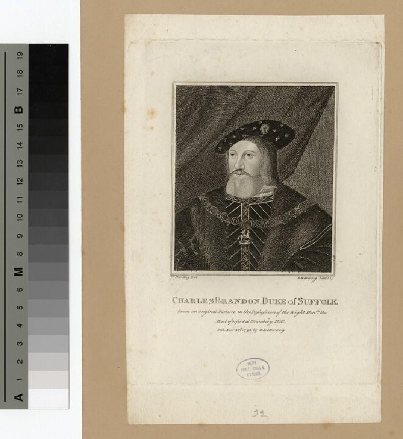 Portrait of Duke Suffolk