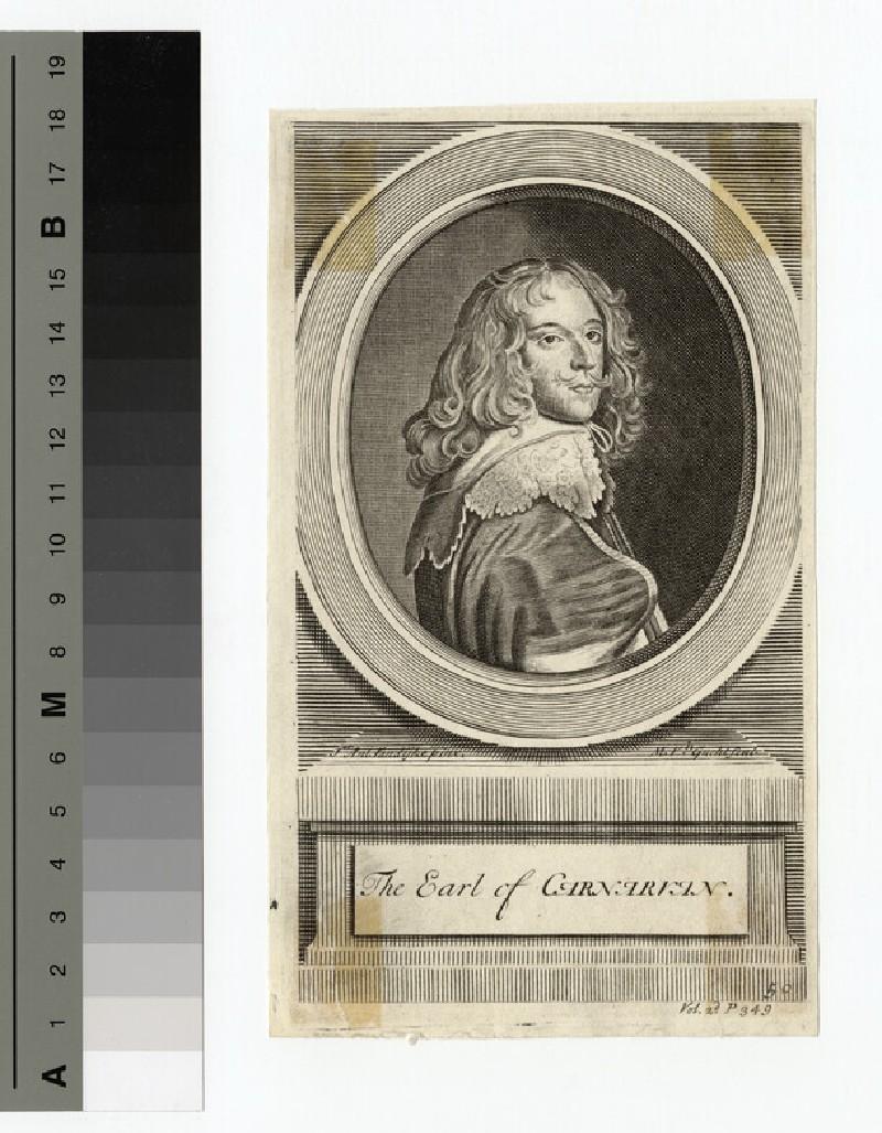 Portrait of Earl Caernarvon