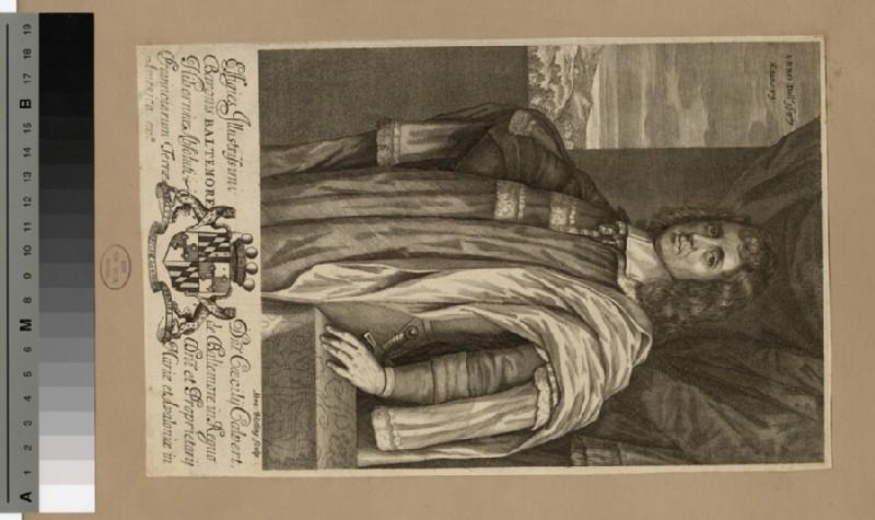 Portrait of Cecil Calvert, 2nd Baron Baltimore