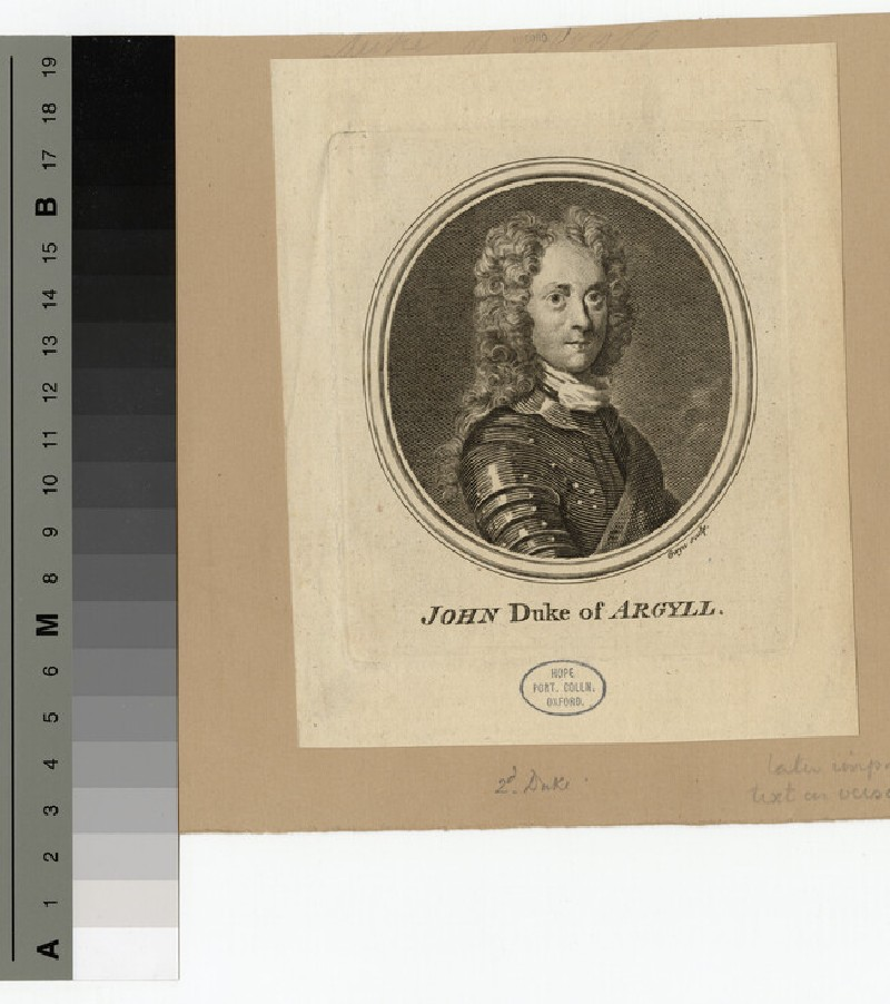 Portrait of Duke Argyll