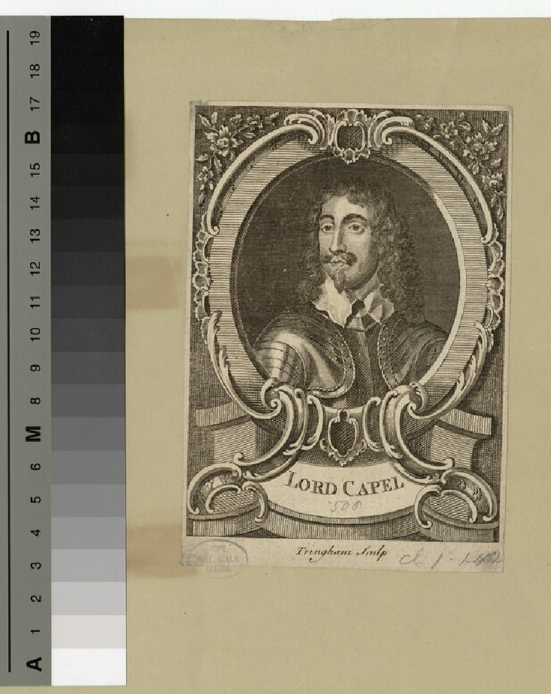 Portrait of Lord Capel