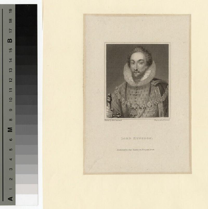 Portrait of Lord Hunsdon