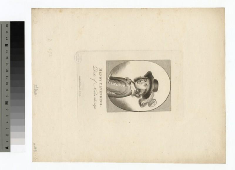 Portrait of Henry Cavendish, 2nd Duke of Newcastle