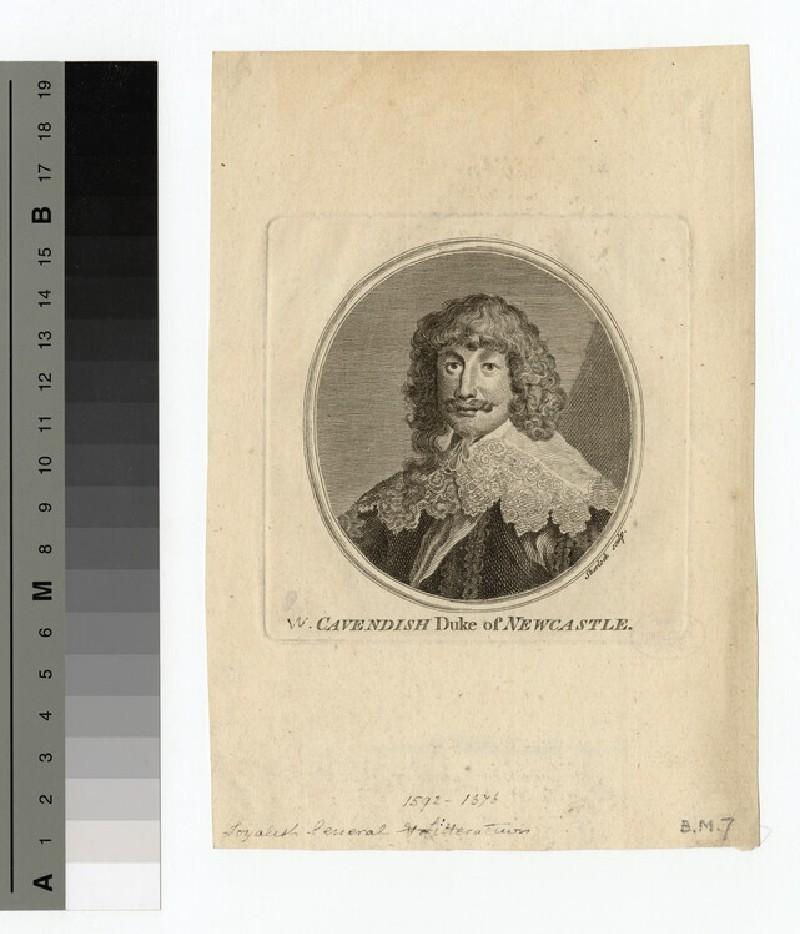 Portrait of Duke Newcastle (WAHP15176)