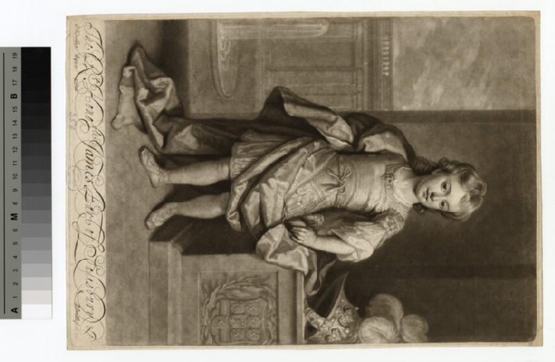 Portrait of Earl of Salisbury (WAHP15189)