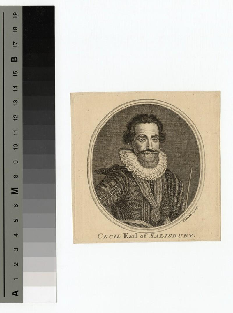 Portrait of Earl Salisbury